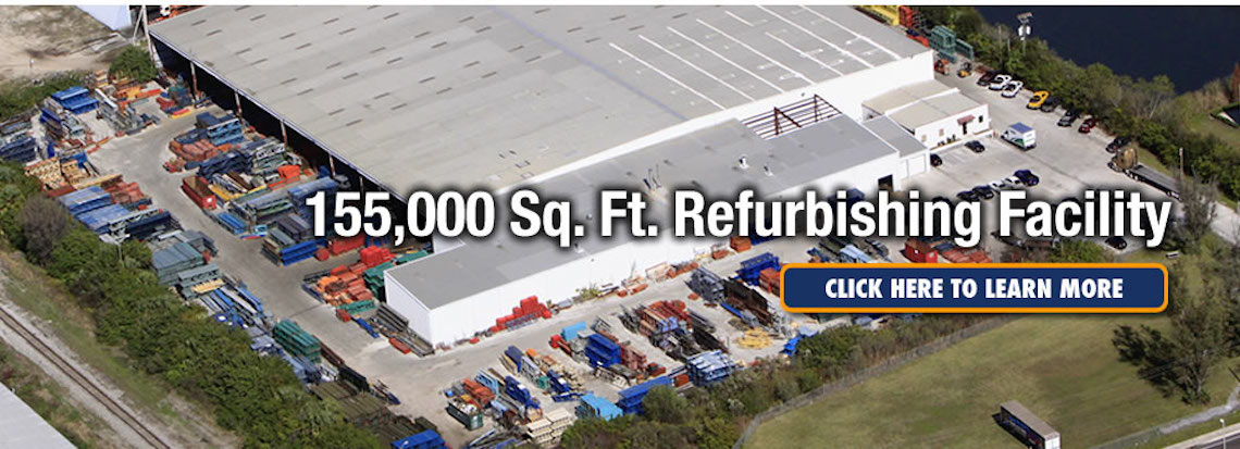 Got-Rack 155,000 Sq. Ft. Refurbishing Facility
