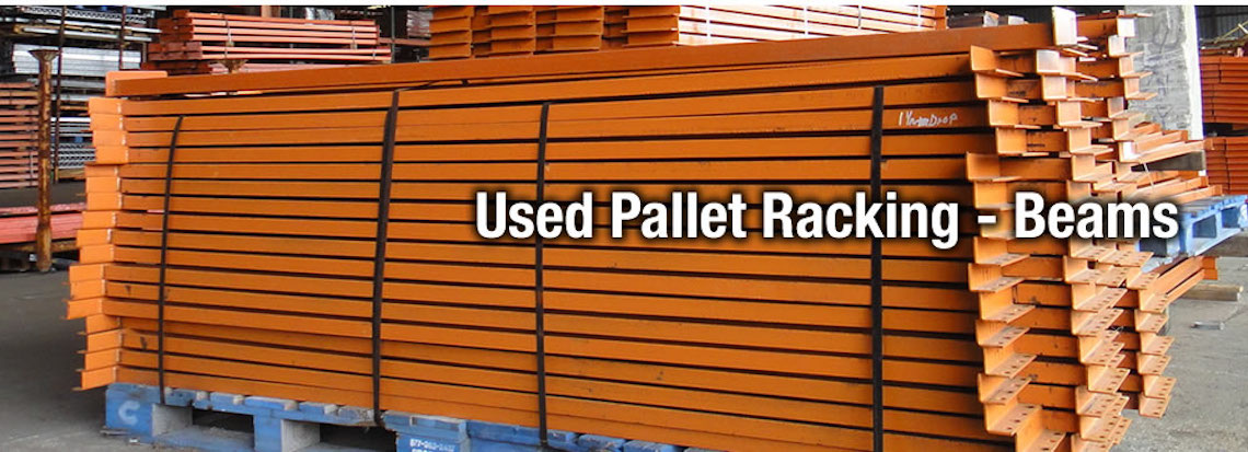 refurbished pallet rack used beams | got-rack
