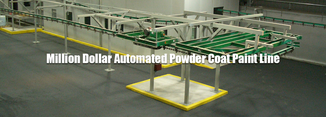 Refurbished Pallet Rack Paint Line | Got-Rack
