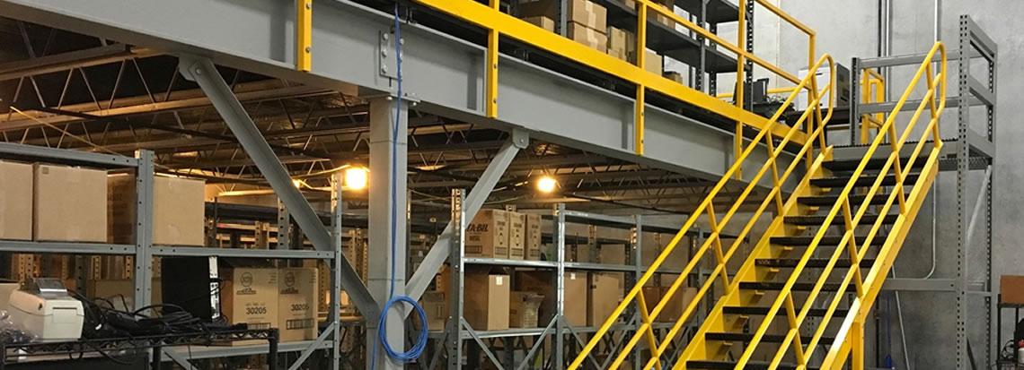 Engineered Custom Mezzanine & Platforms starting at $13 50