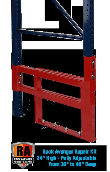mobile pallet rack repair warehouse