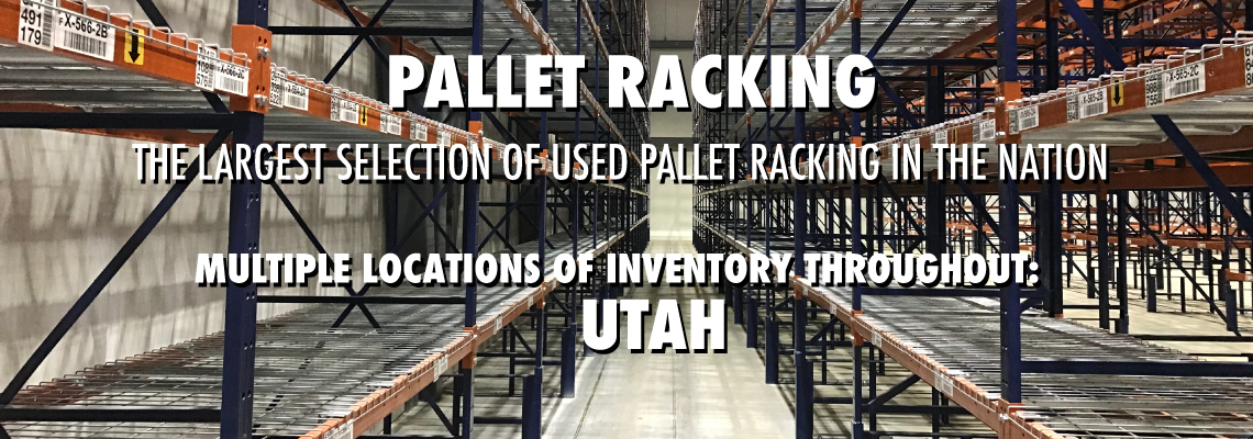 Utah Warehouse Pallet Racking